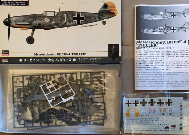 "Messerschmitt Bf 109F-4 ""Priller"" Hasegawa 1:48 Limited Edition"