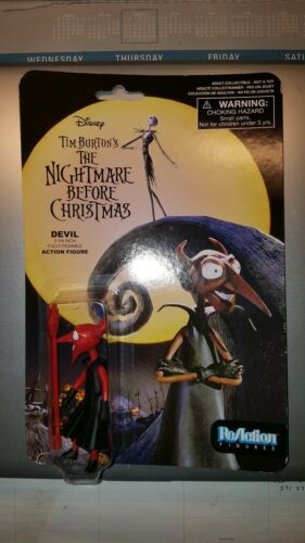 """DEVIL The Nightmare Before Christmas 3 3//4/"""" inch Reaction Retro Figure 2014"""