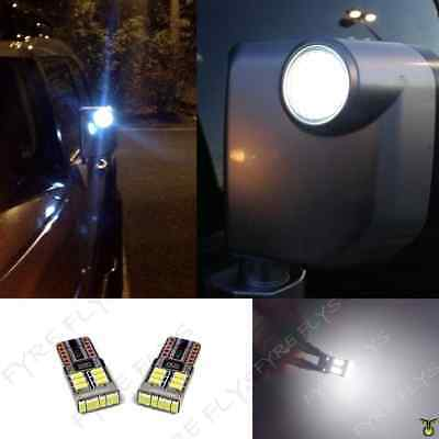 Super Bright Led Side Mirror Puddle Spot Lights For 2007