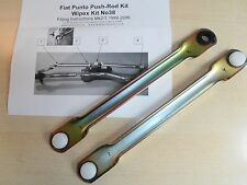 PUSH ROD SET ONLY FIAT PUNTO 99-06 WIPER MOTOR LINKAGE NEW.PLASTIC BALL SOCKETS