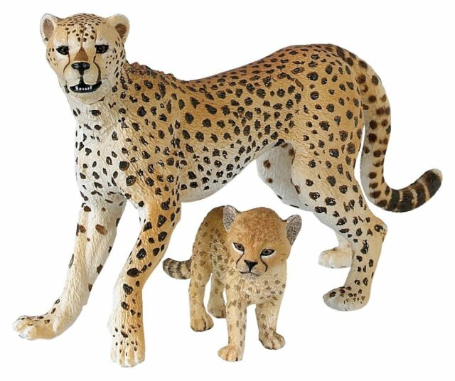CHEETAH With CUB Replica # 50044 ~ FREE SHIP/USA w/ $25.+ Papo Products