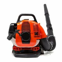 31cc 2 Cycle Gas Powered Backpack Grass Yard Leaf Blower 175 Mph Back Pack