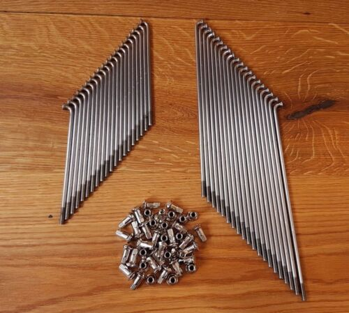 Speichen BMW R5 R6 R51 R51//2 //3 R61 R66 R71 HALBNABE Edelstahl Nippel 40 Stück