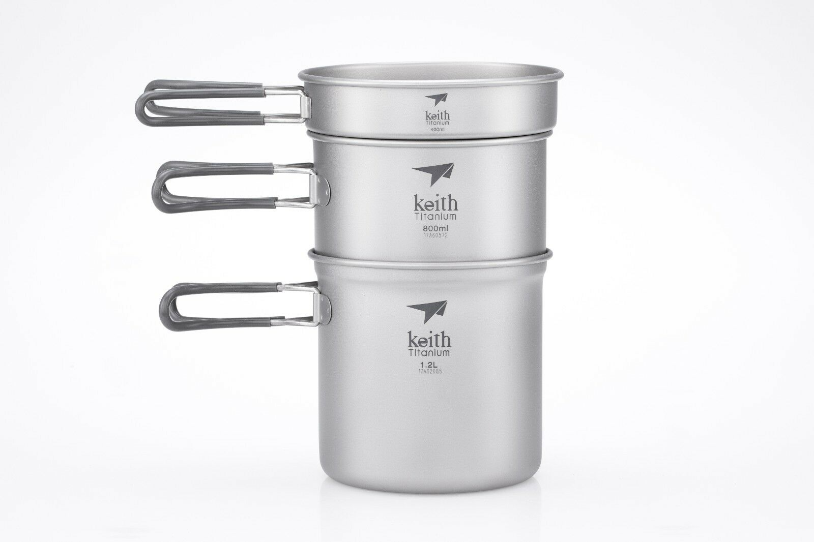 Keith Ti6014 3-Piece Pot and Pan Cook Set - Time 2.4 L (Limited Time - Promotion Price) 2a9011