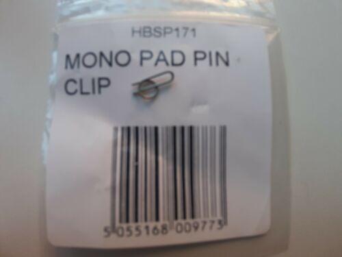 GENUINE HOPE MONO PAD PIN CLIPS X2 HSBP171 E4 BRAKE CALIPER BRAKE NEW REPAIR
