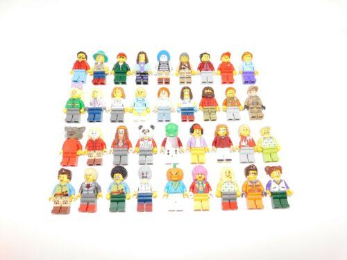 Lego 250 Nuevo Lego Minifigures Ciudad City Serie Ciudad niño niña conjunto de personas