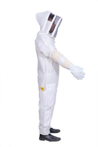 8XL Ventilated Bee Suit 3 layer mesh Beekeeping costume Beekeeper Ultra vented