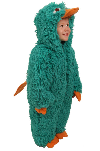 Perry the Platypus Costume Phineas and Ferb 18 24 mo 2T 3T 3 4T 4 5 6 7 8 XS S M