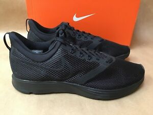 ae2e168a2131 NEW NIKE ZOOM STRIKE MEN S RUNNING SHOE BLACK BLACK AJ0189 010