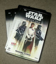 16 Topps Star Wars Rogue One S1 hobby open 4-box lot @750-card insert set medals