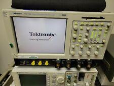 Tektronix Tds7404 Digital Phosphor Oscilloscope Dpo 4ghz 20gss With 4m