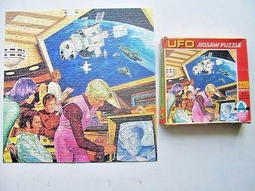 Gerry Anderson's UFO Vintage 320 Piece Jigsaw 1970