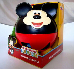 DISNEY-MICKEY-MOUSE-CLUBHOUSE-MICKEY-SHAPE-SORTER-TALKS-amp-TEACHES-KIDS-1-NEW