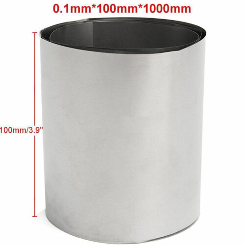 Titanium Ti Blech Titan Plate TC4 Titan Legierung 0.1x100x1000mm Metall