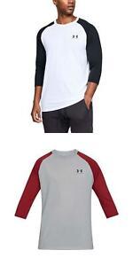 1073cfb5f5 Under Armour Men's UA Sportstyle Left Chest Raglan Shirt Loose Fit T ...