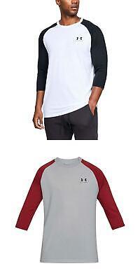 3XL NWT Under Armour Men/'s Heat Gear Long Sleeve Left Chest T-Shirt