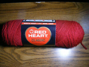 Red Heart Classic Yarn 3.5 oz Tan 4 ply Acrylic Worsted Crochet /& Knitting