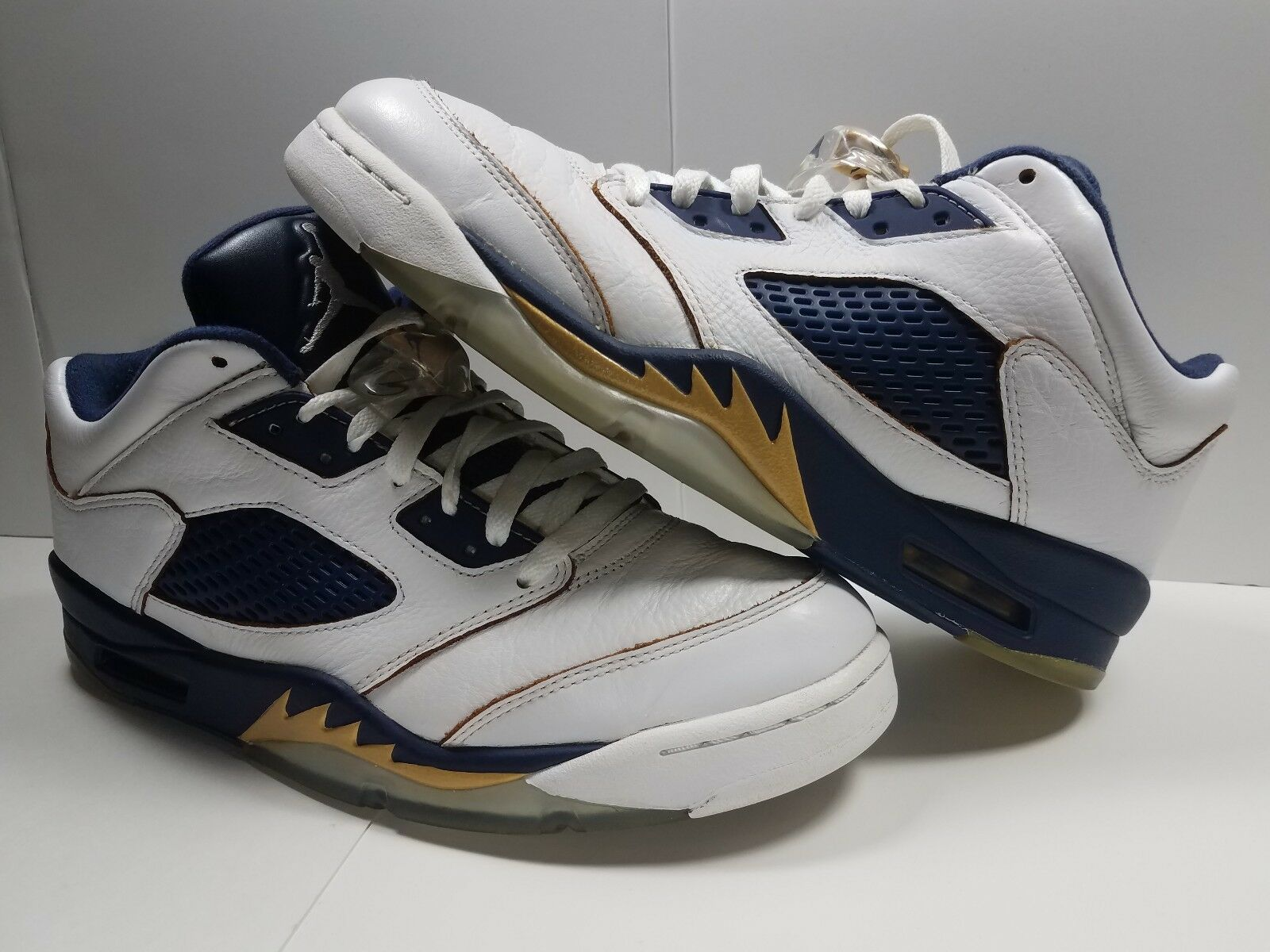 100% authentic 0bef1 d9b85 Jordan 5 V Low  Dunk  Dunk  Dunk From Above  White Met gold