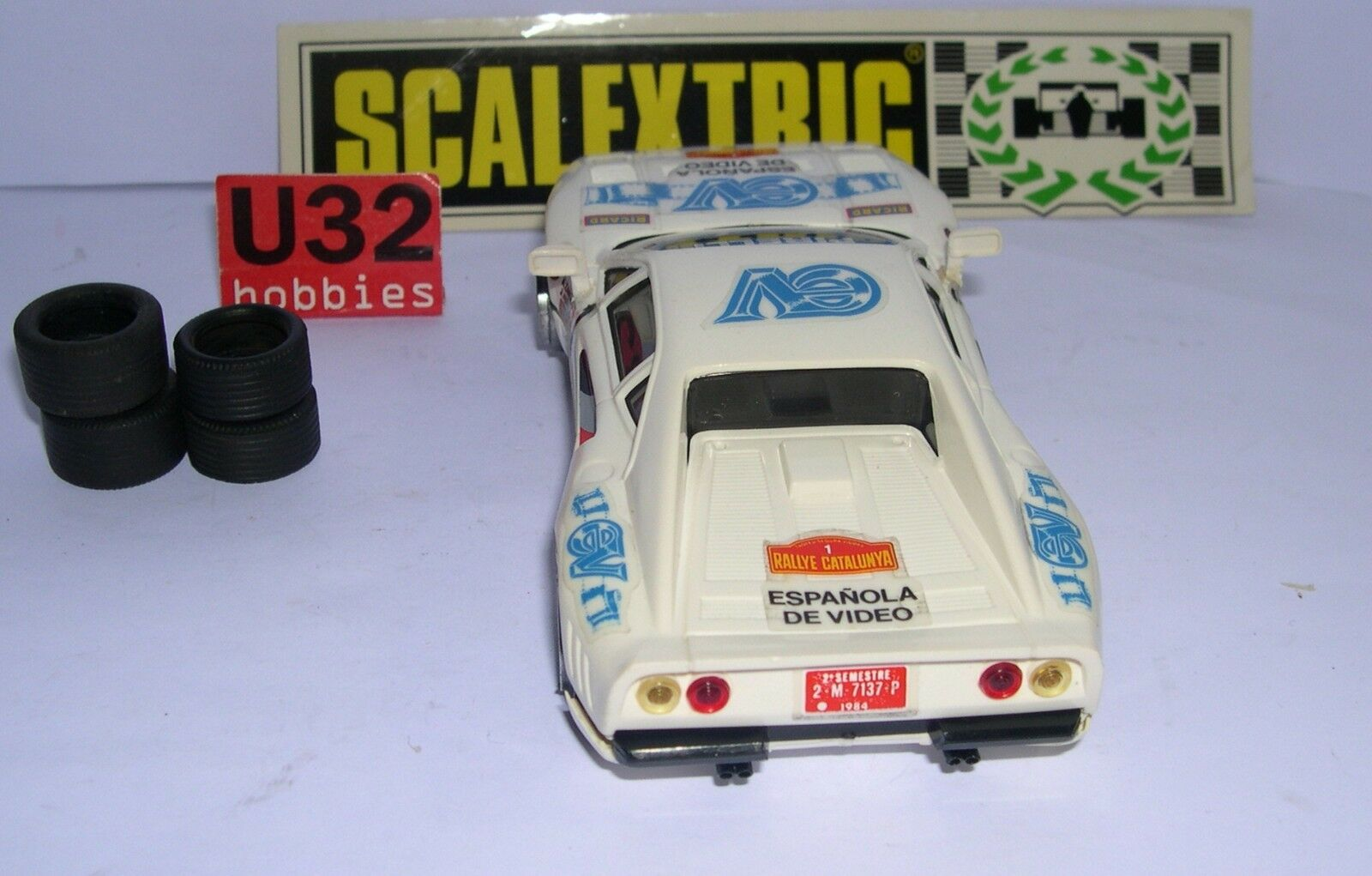 SCALEXTRIC EXIN C-4075 C-4075 C-4075 FERRARI 250 GTO 1 ESPAGNOLE VIDÉO EXCELLENT ETAT fba334