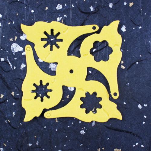 DIY Metal Flowers Cutting Dies Paper Card Making Embossing Frames Craft Stencils