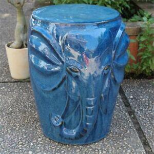 Phenomenal Details About Catalina Wild Elephant Ceramic Garden Stool Inzonedesignstudio Interior Chair Design Inzonedesignstudiocom