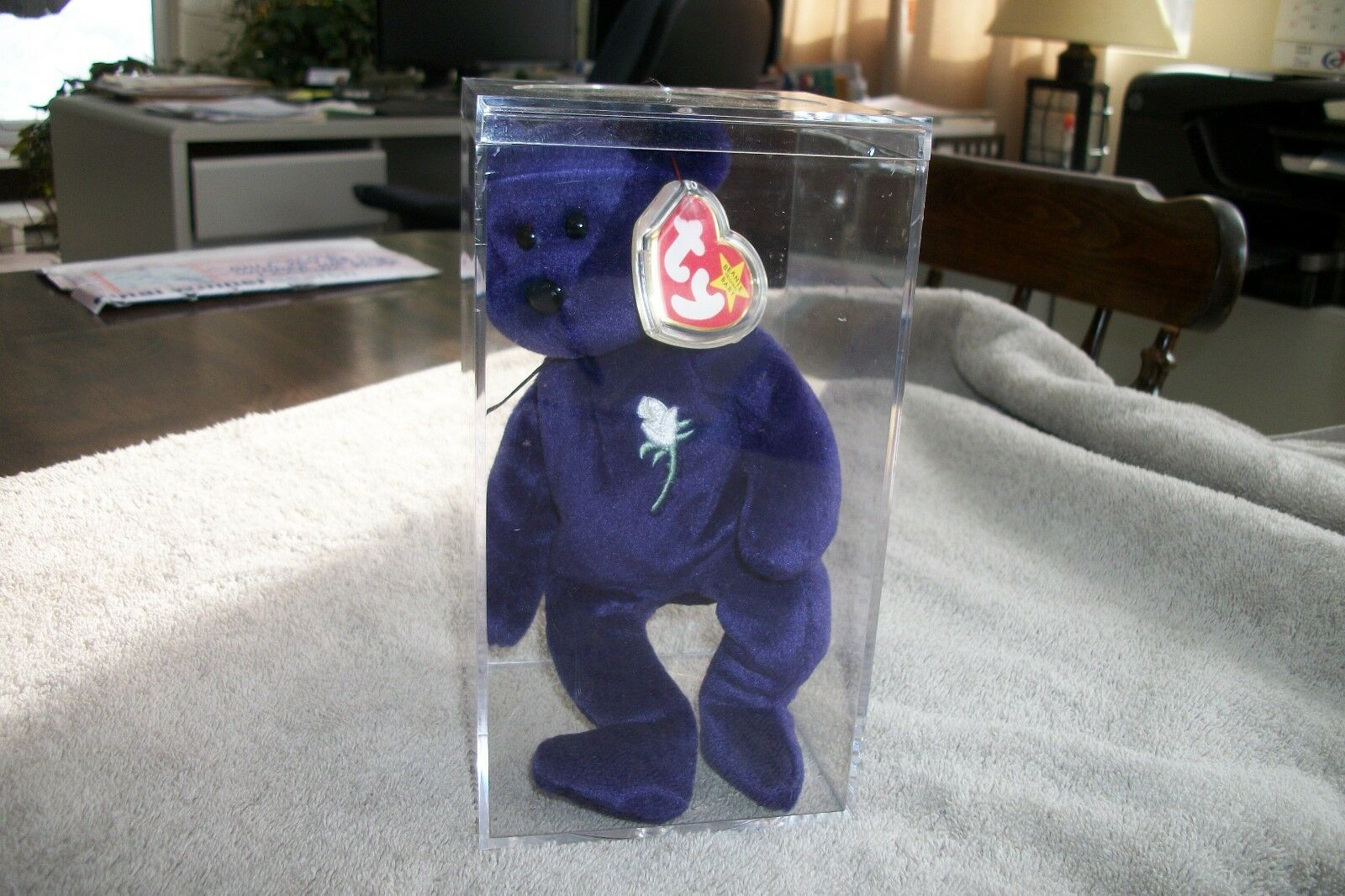 Ty Beanie  Baby  Princess Diana     1st edition Rare-One owner, sealed