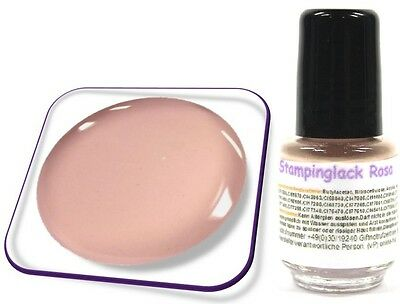 5ml Stamping Lack für KONAD Nail, Stempellack, Farbe: Rosa
