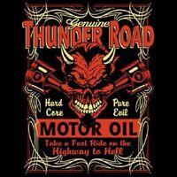 HOT ROD RACING THUNDER ROAD MOTOR OIL BIKER POCKET TEE T SHIRT