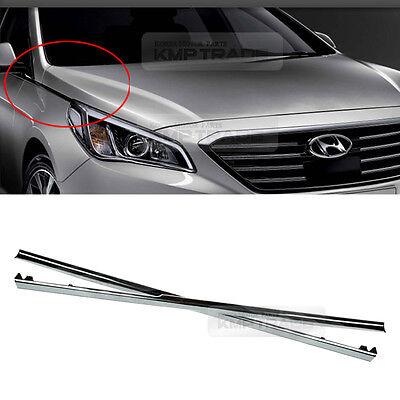 OEM Chrome Black Door Handle Catch Molding 8P 1Set For Hyundai Sonata 2005 2010