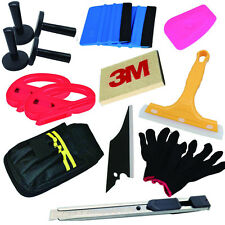 3M Felt Edge Decals Sticker Vinyl Squeegee Car Wrap Applicator Tools Bag Kit