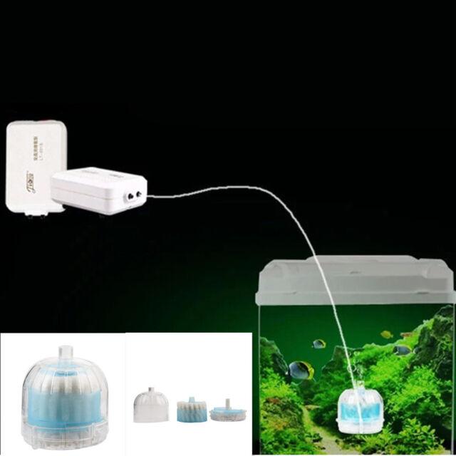 mini aquarium fish tank super pneumatic biochemical activated carbon