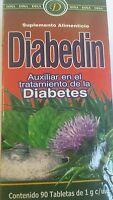 Diabedin Herbal Ayuda En Bajar La Glucosa 90 Caps