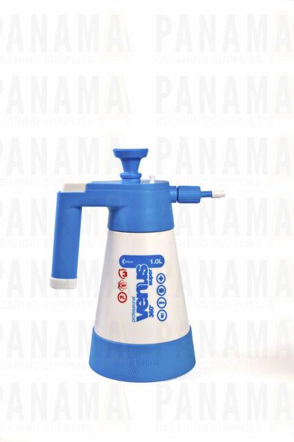 Kwazar White/ Blue Venus Super Pump up Sprayer V.Seals 1.0ltr (SPRAYERVENUS1.0B)