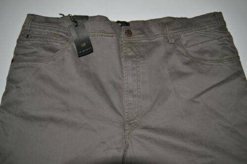 Caldo Moda Forti Elasticizzato Cotone 59 Uomo Tortora Pantalone Taglie Calibrato EpqxwgYCnI