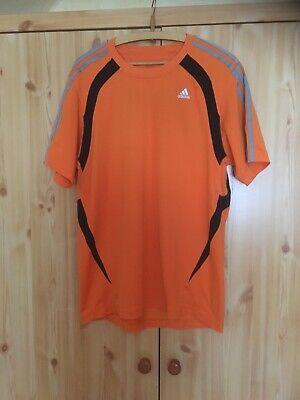 """adidas"" Shirt -orange- In L"