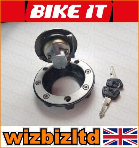 Gas Cap Bikeit Lockable Fuel Cap W// 2 Keys Yamaha YZF-R6 1999-2016 FCPY01