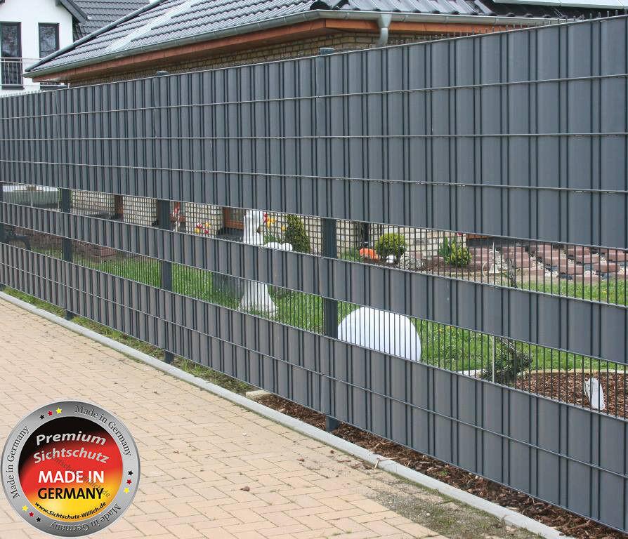 Premium Wind-Sichtschutz für Ihren Zaun Bestee Qualität aus Deutschland perfekt