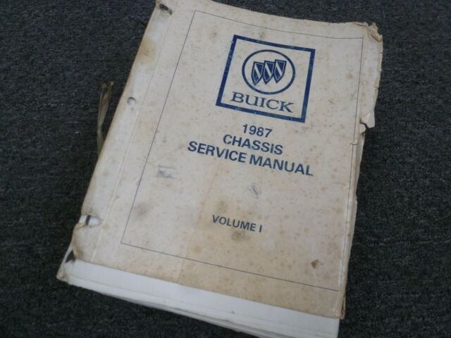 1987 Buick Electra Engine Electrical Wiring Diagrams ...