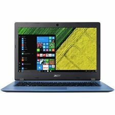 Acer Aspire One 14 Inch HD Intel Celeron 1.1GHz 4GB 32GB Windows Laptop - Blue