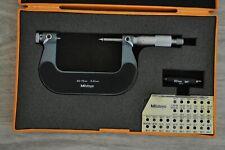 Mitutoyo Screw Thread Micrometer 50 75 Mm Model126 127 Graduation01 Mm