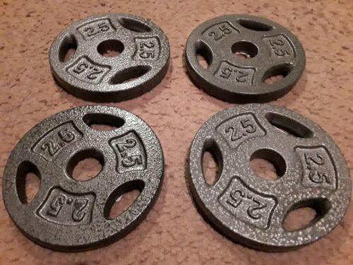 """2 CAP Standard 1/"""" Free Weight 14/"""" Adjustable Barbells Dumbells Handle 10 lb Set!"""