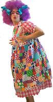 Pantomime Dame /widow Twanky Fancy Dress Costume & Wig