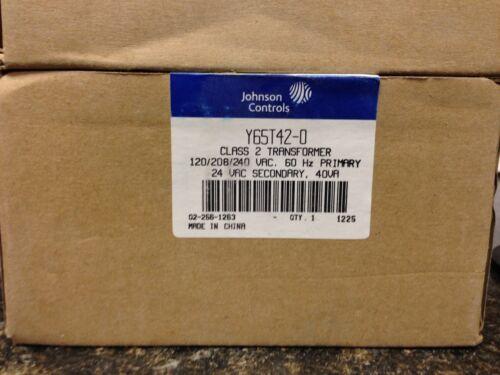 Johnson Controls transformer Y65T42-0 NEW
