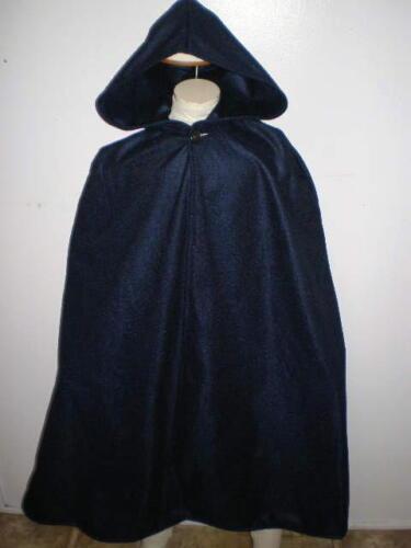 New Handmade Renaissance Child/'s Hooded Cape//Cloak Size Medium Various Colors