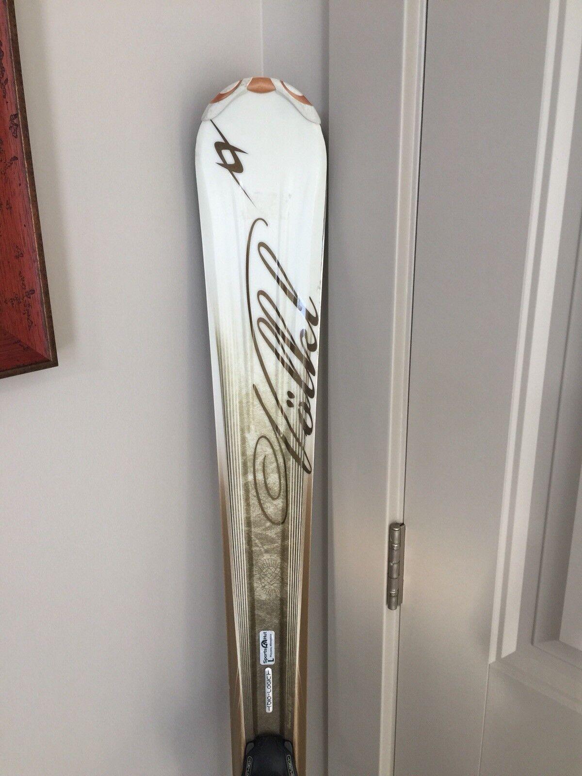 Volkl Womens Attiva Tierra Skis With Marker Bindings