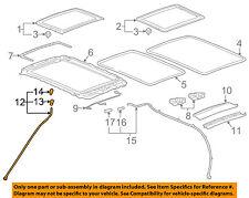 Hummer GM OEM 06-10 H3 Sunroof-Front Hose Right 15794154