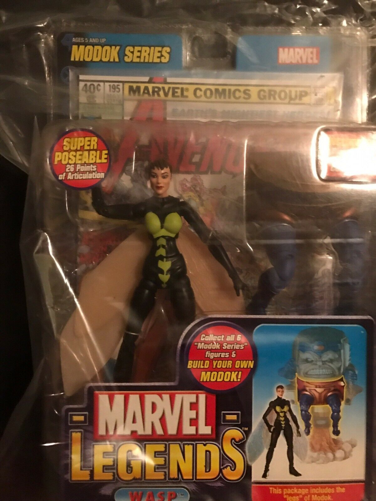 Marvel Legends WASP WASP WASP Lot Of (2) Variant Modok Look     96744c