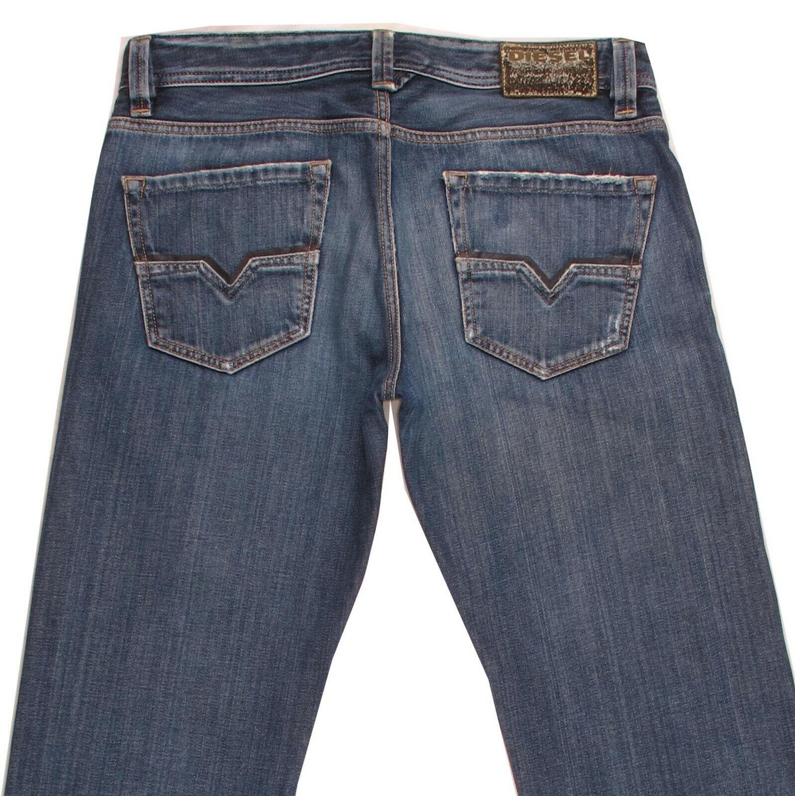 DIESEL LARKEE Wash 008RQ Men's Straight Classic Regular Fit Denim Jeans W33 L34