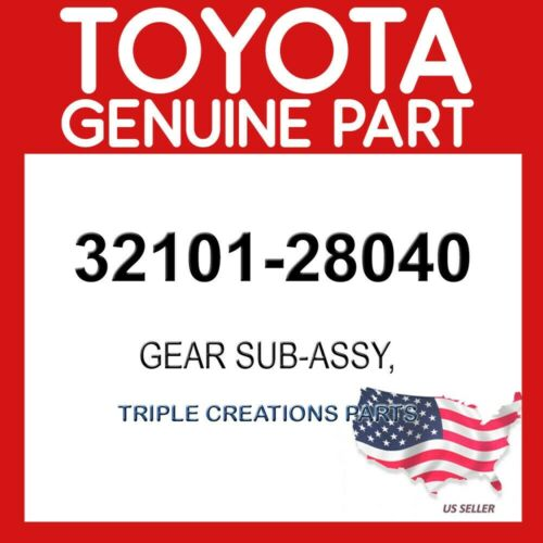 DRIVE PLATE /& RING 32101-28040 TOYOTA GENUINE 3210128040 GEAR SUB-ASSY