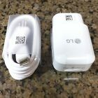 New Original LG USB Type-C Charger For LG G5 Nexus 5X 6P S8 DC12W MCS-H05W Lot